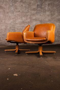 Danish Modern Style 1970's Gunlocke Lounge Chairs in Lower West Side, Chicago ~ Krrb Classifieds