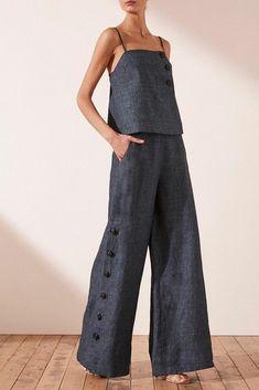 Look Fashion, Urban Fashion, Womens Fashion, Fashion Design, Winter Fashion, Summer Outfits, Cute Outfits, Modelos Plus Size, Pantalon Large