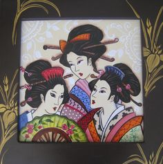 Elegant Trio - Art by Liebby E