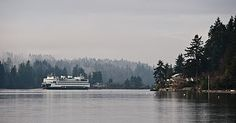 Home. #Bainbridge Island.  Going home on the Ferry boat after a long work day in Seattle.