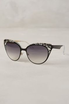 Jimmy Choo Estelle Sunglasses #anthrofave