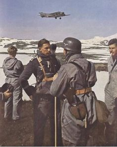 German Fallschirmjäger (paratroopers) in Norway,