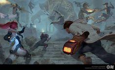reOn battle royale by B03DI