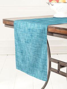 Deny Designs Ikat Linen Table Runner