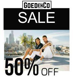 Laatste zomer sale met 50% korting. #sale #denim #tees #sweat #shorts #tops #men #women #op=op #uitverkoop