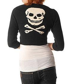 Betsy Johnson skull sweater- love!