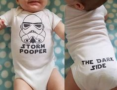 Hey, I found this really awesome Etsy listing at https://www.etsy.com/listing/292918351/star-wars-storm-pooper-onsie