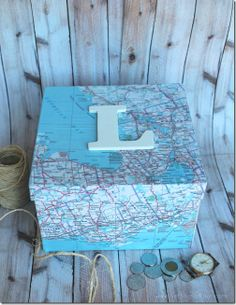 Monogram Map Box