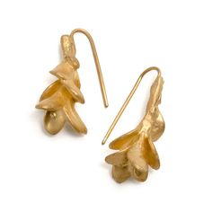 Falling Gold Leaves Earrings