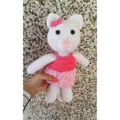 Esta é a Cat Clarinha. #cat #instacat #amigurumilove #crochet #crochetlovers…
