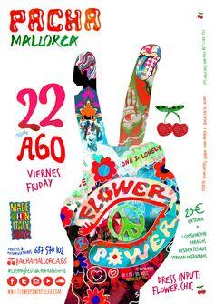 Flower Power Pacha Mallorca 2014