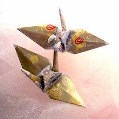 Cyber Monday Etsy Christmas Decoration Ornament by localcolorist, $5.00 #christmasornament #peacecrane #origami