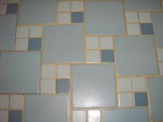 How to clean the grout around my 50s and 60s bathroom floor tiles?