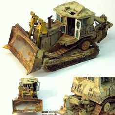 Really Nice!!! D9R Doobi Armoured Bulldozer 1/35 Meng. Modeler Michal Dostál #scalemodel #plastimodelismo #plasticmodel #plastimodelo #bulldozer #meng #hobby #diorama #weathering #effect #rust #dust #trator #usinadoskits #udk #miniatura #miniature #maqueta #maquette #modelismo #modelism #modelisme