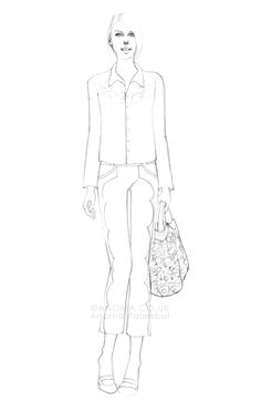 Fashion Illustrations by Anoma Paleebut