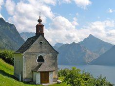 ebensee, Oberosterreich, Austria - What happens in ebensee right now! Austria, Trail, Europe, Tours, Cabin, Shit Happens, House Styles, Home Decor, Bon Voyage