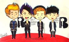 "@genesis5sos' Drawing of 5sos at the #Brits2014!!! THIS IS INCREDIBLE OMG SHE""S SO TALENTED"