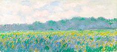 field of yellow irises at giverny - Google 検索
