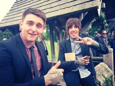 Matthew Nicholls and Oliver Sykes- Bring Me The Horizon