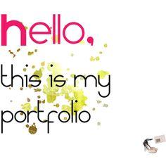 """portfolio"" by roselinas on Polyvore"