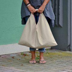 Borsa corda borsa mare borsone doubleface borsa tela di piBase Origami Bag, Look Casual, Bago, Purses And Bags, Midi Skirt, Sewing, Skirts, Shopping, Fashion