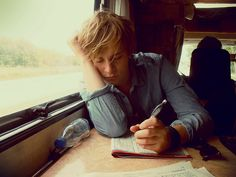 """Peter slouched against the train window. A boy the same age walked up to him. """"I'm Wesley. Would you like a water or something to drink?"""""""