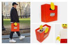 Sensacional sacola da Lego!    #BruF2Design #DesignLife #Kid4Ever