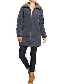 If you are looking for stylish Women's Coats this season, be sure to check out some of my favorite fashion trends for fall and winter! Down Winter Coats, Winter Jackets, Old Navy, Mode Mantel, Maternity Wear, Coats For Women, Womens Fashion, Fashion Trends, Man Shop