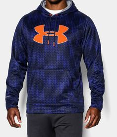 Men's UA Storm Armour® Fleece Big Logo Patterned Hoodie | Under Armour US
