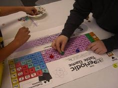 The Periodic Table Game (a board game for ages 8-12)