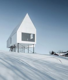 High House by DELORDINAIRE in Quebec, Canada