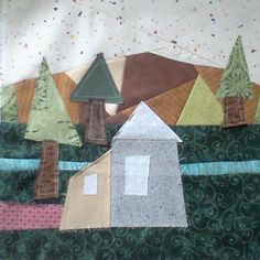 house quilt block - Google Search