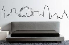 london outline. I would like it as a tattoo