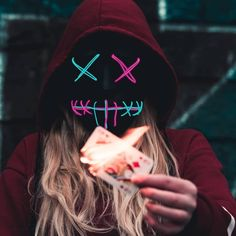 Dpz for girls Hacker Wallpaper, Neon Wallpaper, Black Wallpaper, Neon Photography, Portrait Photography, Photography Business, Street Photography, Maquillage Halloween, Halloween Makeup