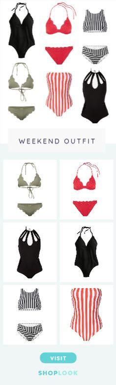 Swinwear created by nielannn        on ShopLook.io perfect for Weekend. Visit us to shop this look.