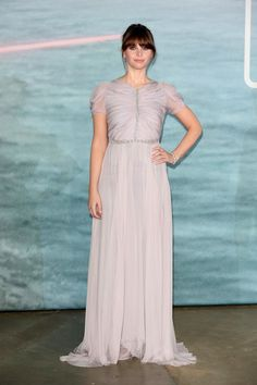 """Felicity Jones Photos Photos - Actress Felicity Jones attends the launch event for """"Rogue One: A Star Wars Story"""" at Tate Modern on December 13, 2016 in London, England. - 'Rogue One: A Star Wars Story' - Launch Event - Red Carpet Arrivals"""