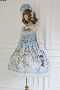 Unideer -Laien's Garden- Sweet Classic Lolita Jumper Dress