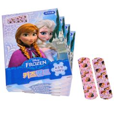Cute First Aid Band Aids Adhesive Bandages Plaster Disney FROZEN Strips 4 Boxes #OkisMall