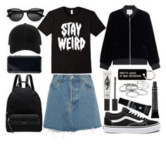 """""""Style #364"""" by maksimchuk-vika ❤ liked on Polyvore featuring Grown Alchemist, Dermablend, Radley, RE/DONE, Vans, Frame, Eyeko, Various Projects, rag & bone and Belkin"""