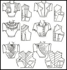'' Modern Pattern Design'' by Harriet Pepin. Doll Clothes Patterns, Sewing Clothes, Clothing Patterns, Dress Patterns, Sewing Coat, Doily Patterns, Coat Patterns, Dress Sewing, Techniques Couture