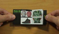 Pop-up business card doubles as a portfolio