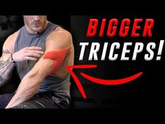 4 Exercises for Bigger Triceps (DUMBBELLS ONLY!) - YouTube
