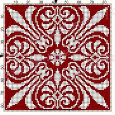 ru / # 57 - Das alte Filet am Reprise Point III - Gabbach - Gallery.ru / # 57 – Das alte Filet am Reprise Point III – Gabbach – Crochet Cross, Crochet Chart, Filet Crochet, Knitting Charts, Knitting Stitches, Cross Stitch Designs, Cross Stitch Patterns, Cross Stitching, Cross Stitch Embroidery