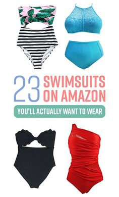 23 Adorable Women's Swimsuits You Won't Believe You Can Get On Amazon