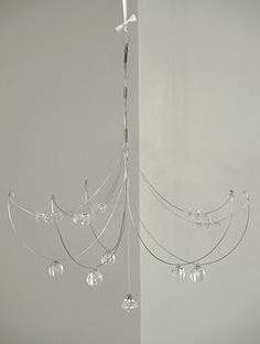 Chandelier frame parts | DIY hanging lamps | Pinterest ...