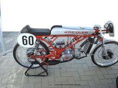 Kreidler moped racing