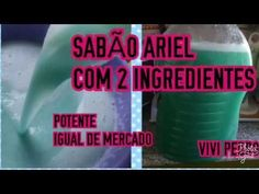 SABÃO ARIEL COM 2 INGREDIENTES POTENTE IGUAL DO MERCADO - YouTube