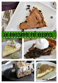 20 pie recipes