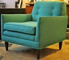 mid century chairs - adorable but so uncomfortable to sit in!