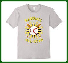 Mens Baseball All-Star 3XL Silver - Sports shirts (*Amazon Partner-Link)